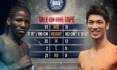 Hassan N'DAM vs Ryota MURATA - Boxing Fight Video