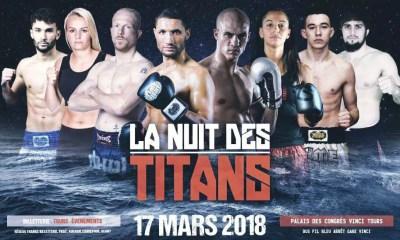 NUIT DES TITANS 2018 - Les Résultats