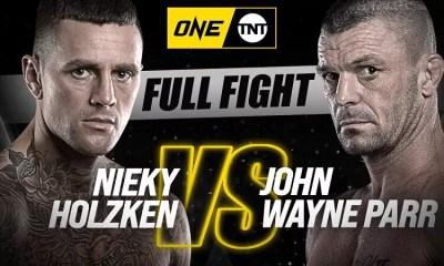 Nieky Holzken vs John Wayne Parr - Replay vidéo du combat - ONE