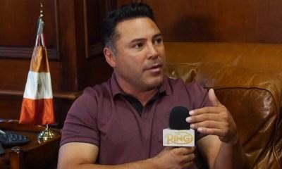 Inspiré par Mike Tyson, Oscar De La Hoya songe à faire son retour en boxe: 'J'y pense vraiment'