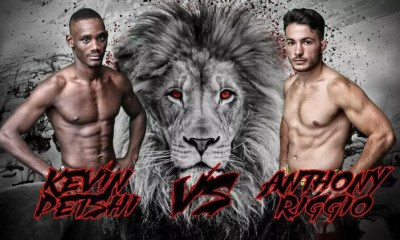 Kevin Petshi vs Anthony Riggio - Full Fight Video - LIONS FC 6