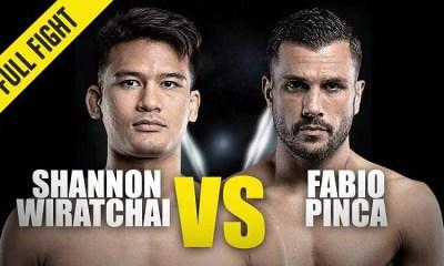 Fabio Pinca vs Shannon Wiratchai - Combat de MMA - Replay Vidéo