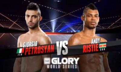 Giorgio Petrosyan vs Andy Ristie - Full Fight Video - Glory 12