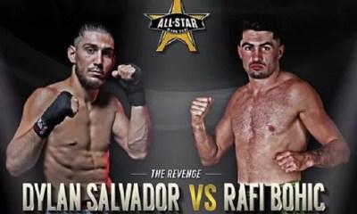 La revanche Dylan SALVADOR vs RAFI BOHIC prévue au All Star Muay Thai !