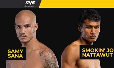 Samy SANA affrontera SMOKIN' Jo pour le premier tour du Grand Prix du ONE