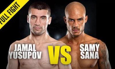 Samy Sana vs Jamal Yusupov - Replay du Combat - One Championship