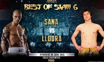 Samy Sana vs Raphael Llodra - Fight Video - BOS 6