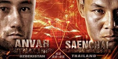 SAENCHAI vs Anvar BOYNAZAROV - Full Fight Vidéo - THAI FIGHT 2016