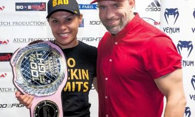 100% FIGHT 36 - Résultats - Stéphanie Ielo PAGE championne dans deux divisions !
