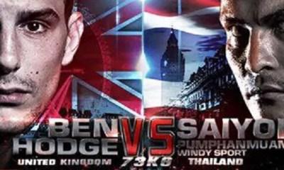 Saiyok vs Ben HODGE - Full Fight Video - THAI FIGHT LONDON