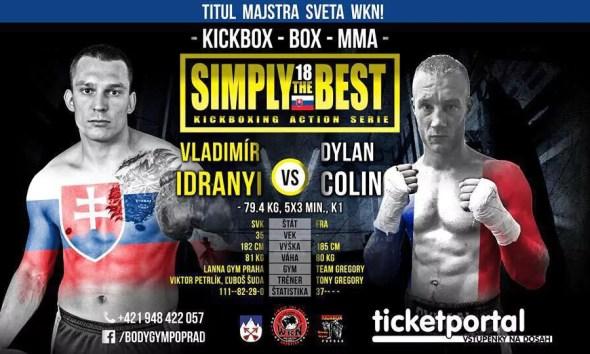 Dylan COLIN en Slovaquie pour un championnat du monde de Kickboxing