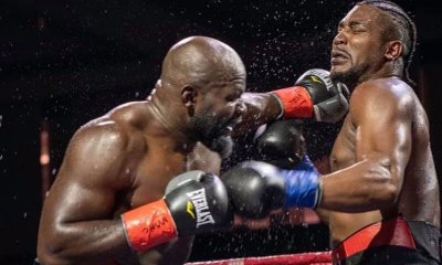 Carlos TAKAM vs Craig LEWIS - Full Fight Video - Boxing