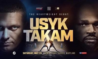 BOXE - Carlos TAKAM vs Oleksandr USYK officialisé pour le 25 mai