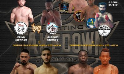 TAKEDOWN FIGHTING CHAMPIONSHIP 2 - The Line Up !