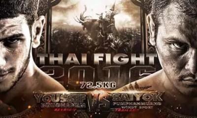 Youssef BOUGHANEM vs SAIYOK 2 - Full Fight Video - THAI FIGHT 2016