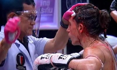 Thai Fight Vidéo - Morgane Manfredi et Sliman Zegnoun s'inclinent avant la limite