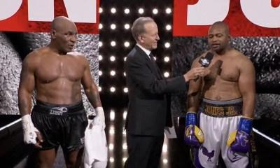 Résultats - Mike Tyson et Roy Jones se séparent sur un match nul