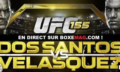 UFC 155 - Dos Santos vs Velasquez 2 - Video Replay.