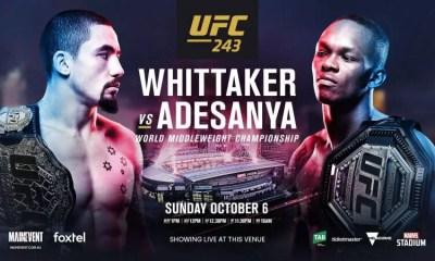 UFC 243 - Video et Résultats de la pesée en direct