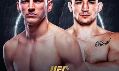 Michael Chandler vs Dan Hooker officialisé pour l'UFC 257