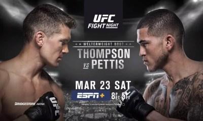 UFC on ESPN+ 6 - Thompson vs Pettis - Les Résultats