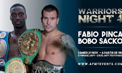 Fabio Pinca vs Bobo Sacko - Full Fight Video - Warriors Night 4
