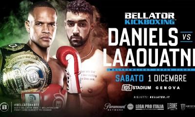 Zakaria LAAOUATNI vs Raymond DANIELS au Bellator Kickboxing !