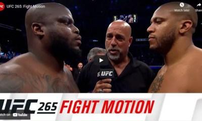 UFC 265 'Fight Motion': Revivez la victoire de Ciryl Gane sur Derrick Lewis en super ralenti