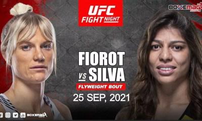 Manon Fiorot affrontera Mayra Bueno Silva pour son troisième combat avec l'UFC
