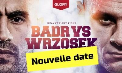Nouvelle date pour le combat de Badr Hari, le Glory de retour au Gelredome