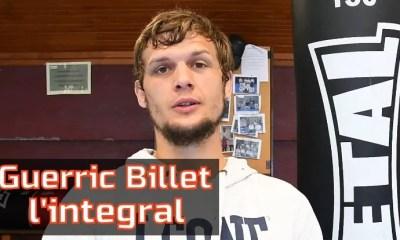ITW Guerric Billet - Son parcours, ses objectifs, le Glory, le MMA.