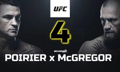 McGregor vs Poirier 4 - Conor, Dustin et White sont tous pour un quatrième combat !