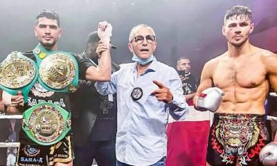 Youssef Boughanem s'impose sur Niclas Larsen et unifie les ceintures WBC et WBC Diamond