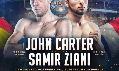 Samir Ziani vs John Carter le 13 aout à Marbella