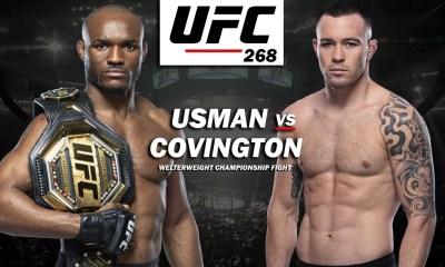 Usman vs Covington 2