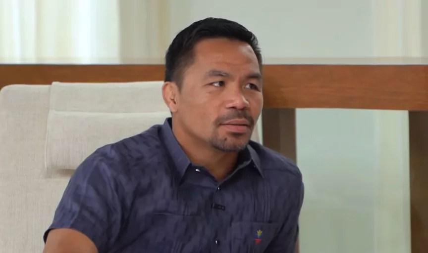 Manny Pacquiao retraite
