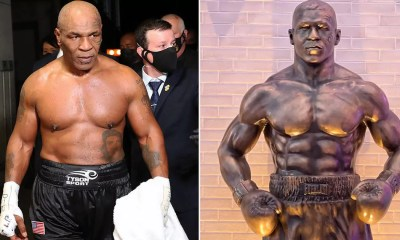 Mike Tyson Statue