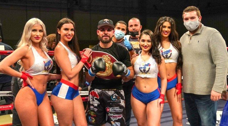 """Verdugo de mexicanos, """"The Magic"""" Alamo ya es campeón Latino WBO"""