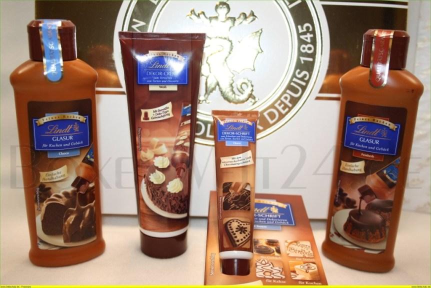 Lindt feines Backen Box Lindt Chocoladen Club