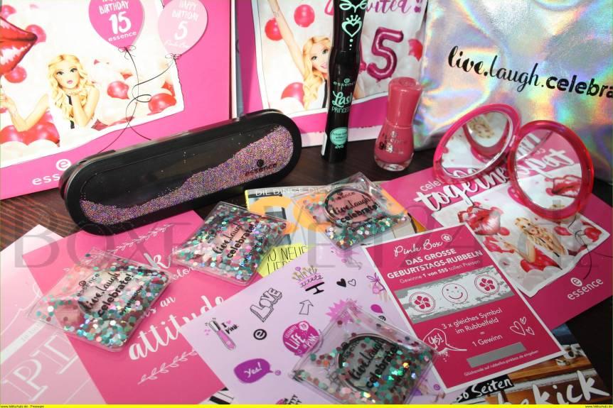 Pink Box mit 5€ Rabatt Boxenwelt24.de