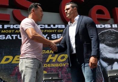 De la Hoya vs Belfort está a la vista para una fecha de noviembre