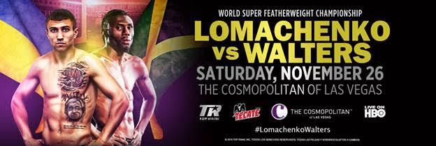 Image result for lomachenko vs walters