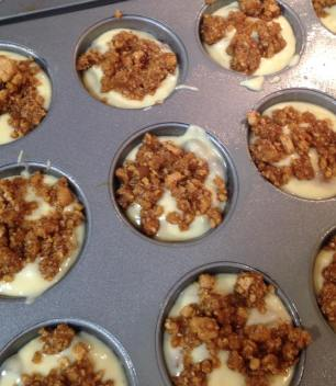 unbaked in muffin tin