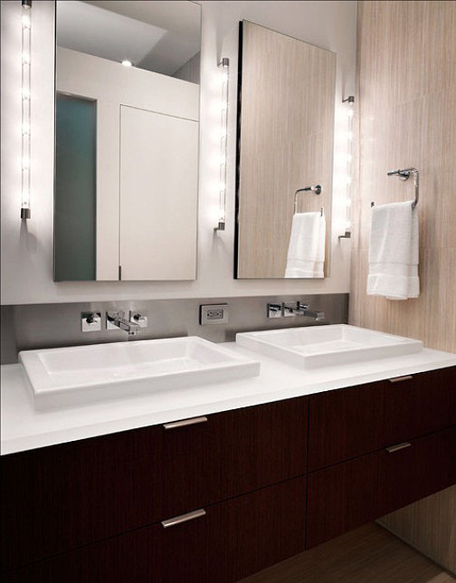 bathroom-decorating Bar Lighting Upgrade