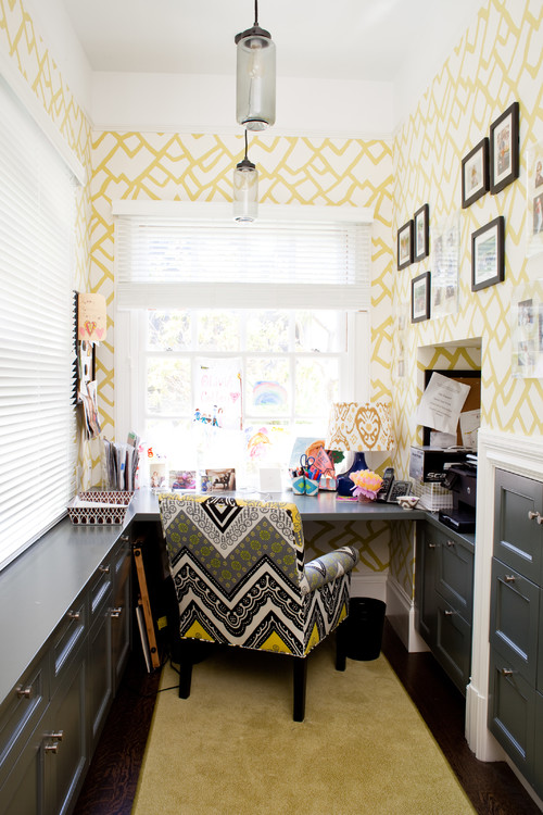 small home office colours