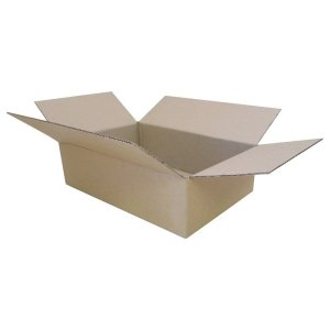 New-Cardboard-Boxes - 320x220x90mm-Open-Box