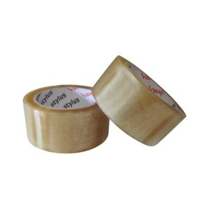 Tape-Premium+-48mm-Clear - Tape-Rubber-Solvent-Vibac-48mm-Clear