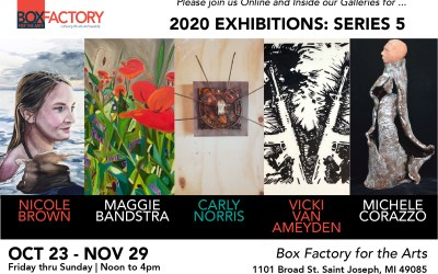 Exhibitions Series 5: The Return of In-House Shows at the Box Factory for the Arts Begins October 23