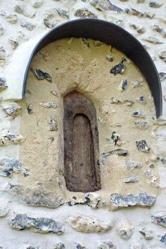 Saxon window, St Andrew's Boxford