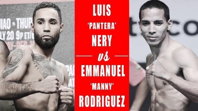 ルイス・ネリー VS エマヌエル・ロドリゲス バンタム級前王者対決!勝つのはどっちだ?